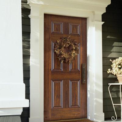 Replacement exterior door