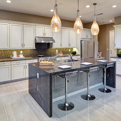 Sullivan maple white kitchen cabinets