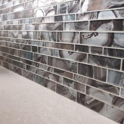 Gray wall tile