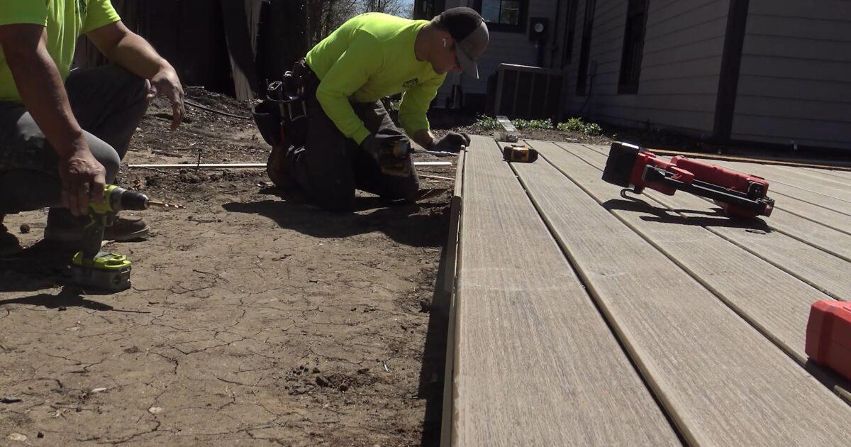 Deck installation Wichita KS