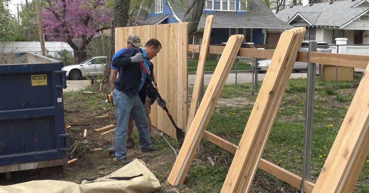 Fence installation Wichita KS